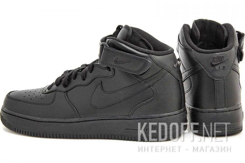 Мужские кроссовки Nike Air Force 1 Mid 07 315123-001   (чёрный) купить Украина