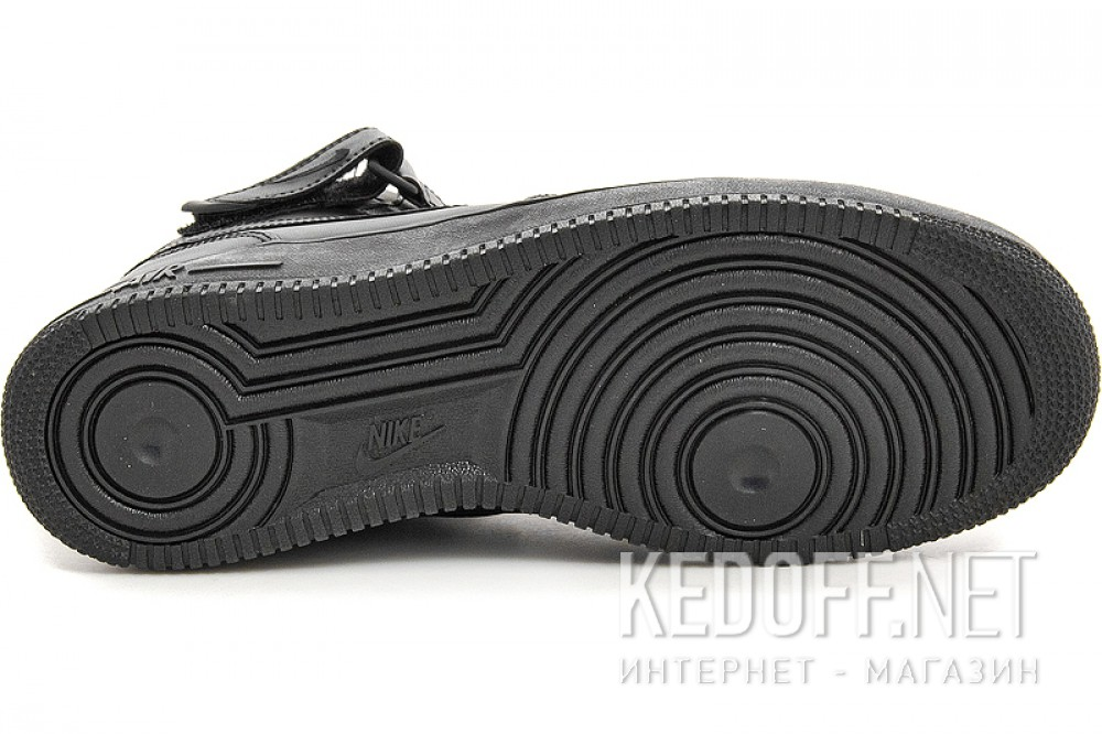 Цены на Мужские кроссовки Nike Air Force 1 Mid 07 315123-001   (чёрный)