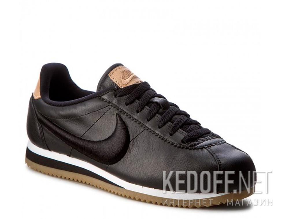 Купить Мужские комфорт Nike Classic Cortez Premium Leather 861677-004   (чёрный)