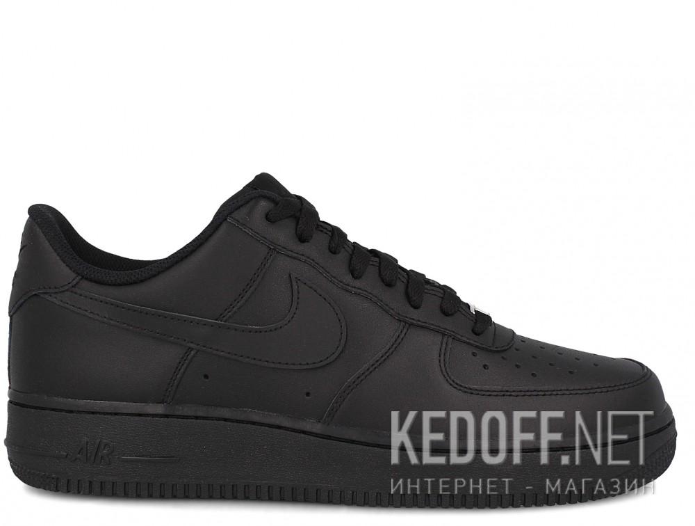 Мужские кроссовки Nike Air Force 1 '07 315122-001   (чёрный) купить Украина
