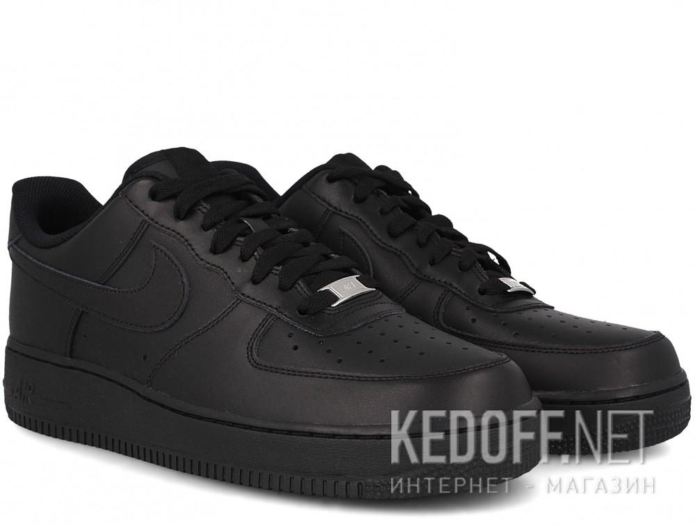 Оригинальные Мужские кроссовки Nike Air Force 1 '07 315122-001   (чёрный)