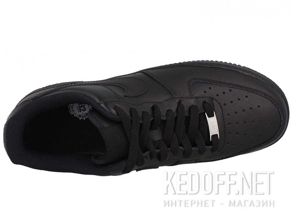 Мужские кроссовки Nike Air Force 1 '07 315122-001   (чёрный) описание