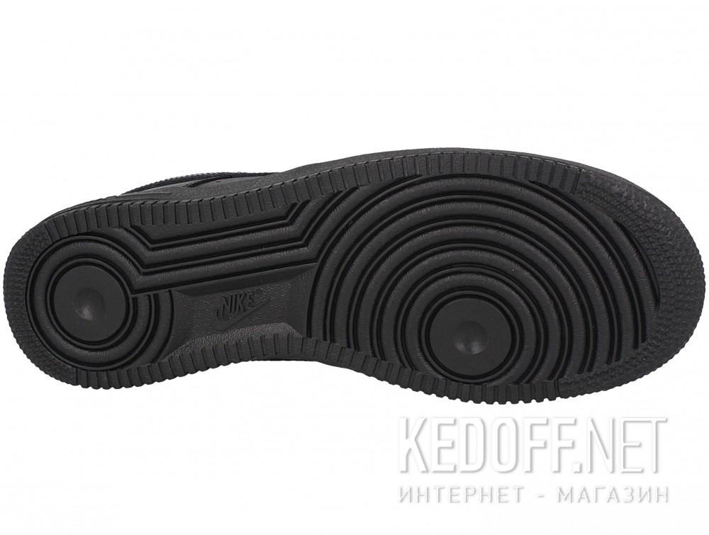 Цены на Мужские кроссовки Nike Air Force 1 '07 315122-001   (чёрный)