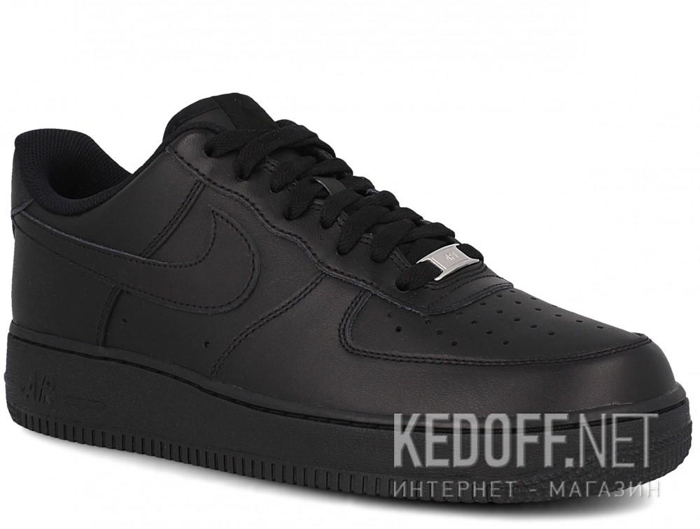 Купить Мужские кроссовки Nike Air Force 1 '07 315122-001   (чёрный)