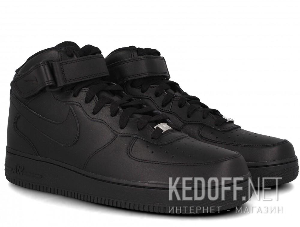 Мужские кроссовки Nike Air Force 1 Mid 07 315123-001   (чёрный) описание