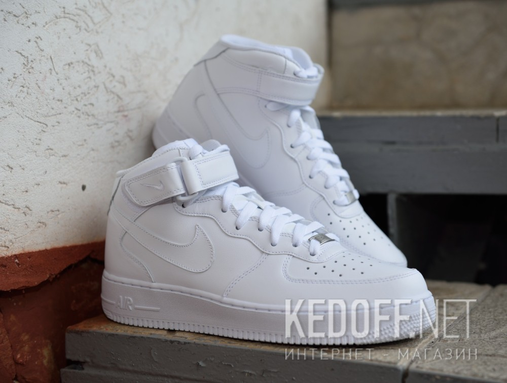 Nike Air Force 1 Mid '07 Trainers In White 315123 111 | ASOS