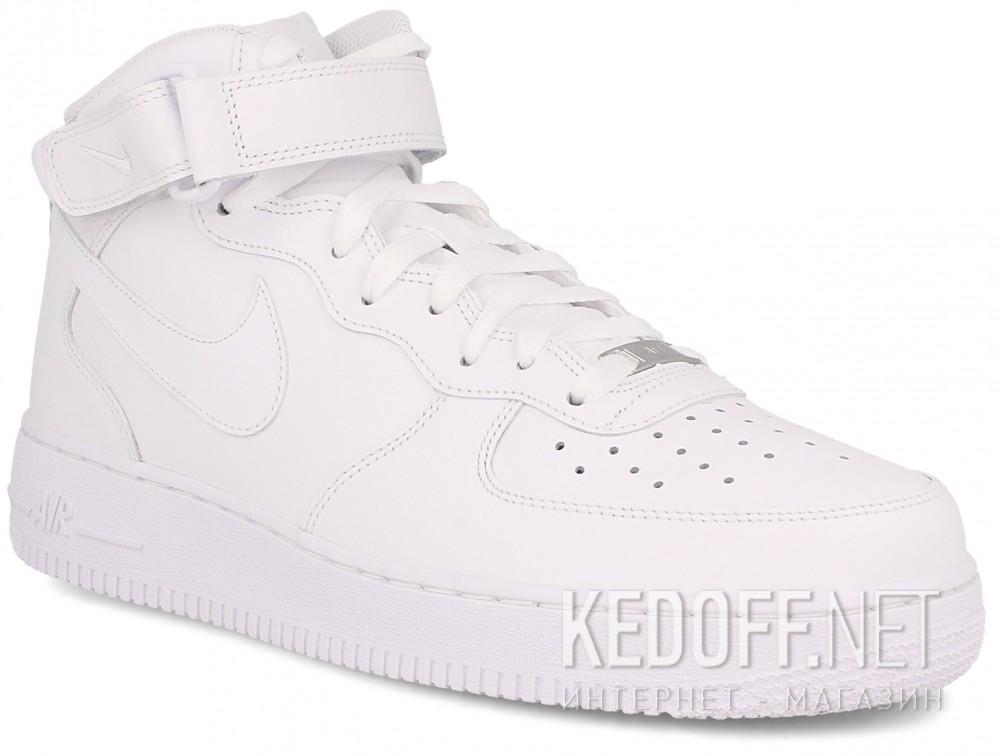 Купить Мужские кроссовки NIKE AIR FORCE 1 MID 07 315123-111   (белый)