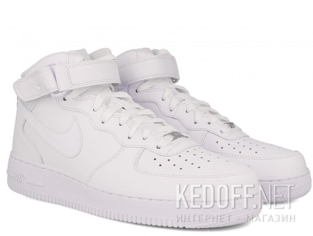 Мужские кроссовки NIKE AIR FORCE 1 MID 07 315123 111 (белый)