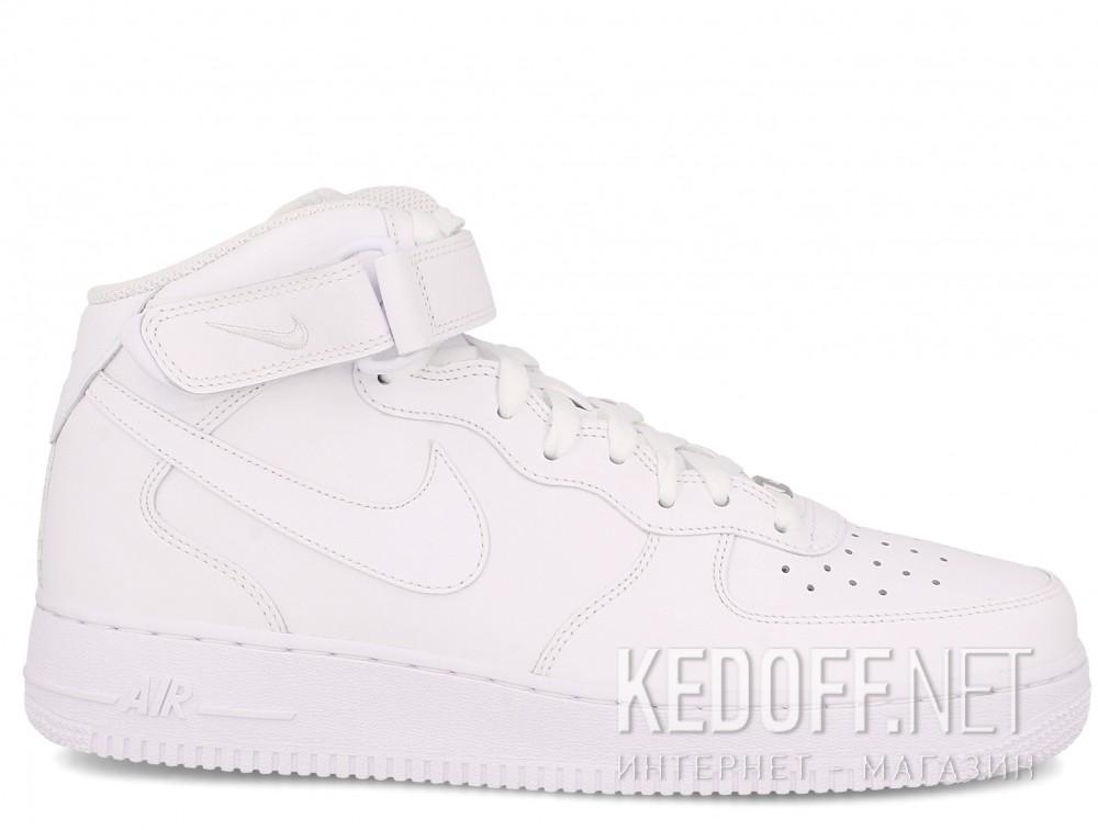 Мужские кроссовки NIKE AIR FORCE 1 MID 07 315123-111   (белый) купить Киев