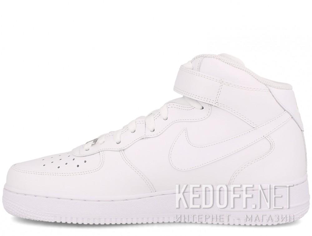 Оригинальные Мужские кроссовки NIKE AIR FORCE 1 MID 07 315123-111   (белый)