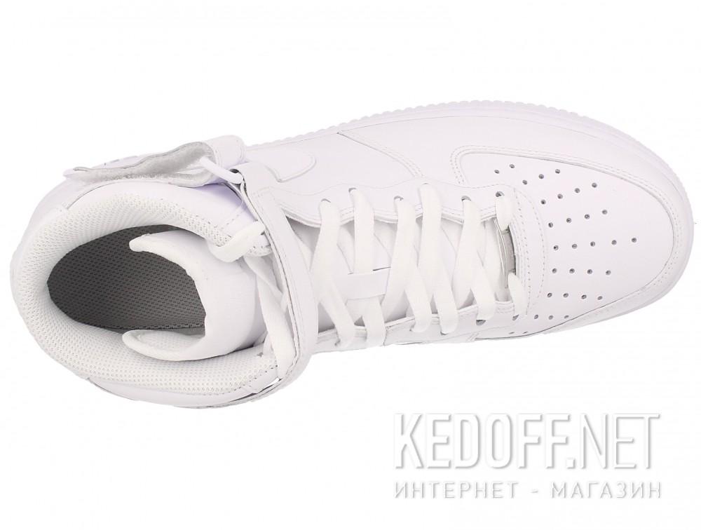 Мужские кроссовки NIKE AIR FORCE 1 MID 07 315123-111   (белый) описание