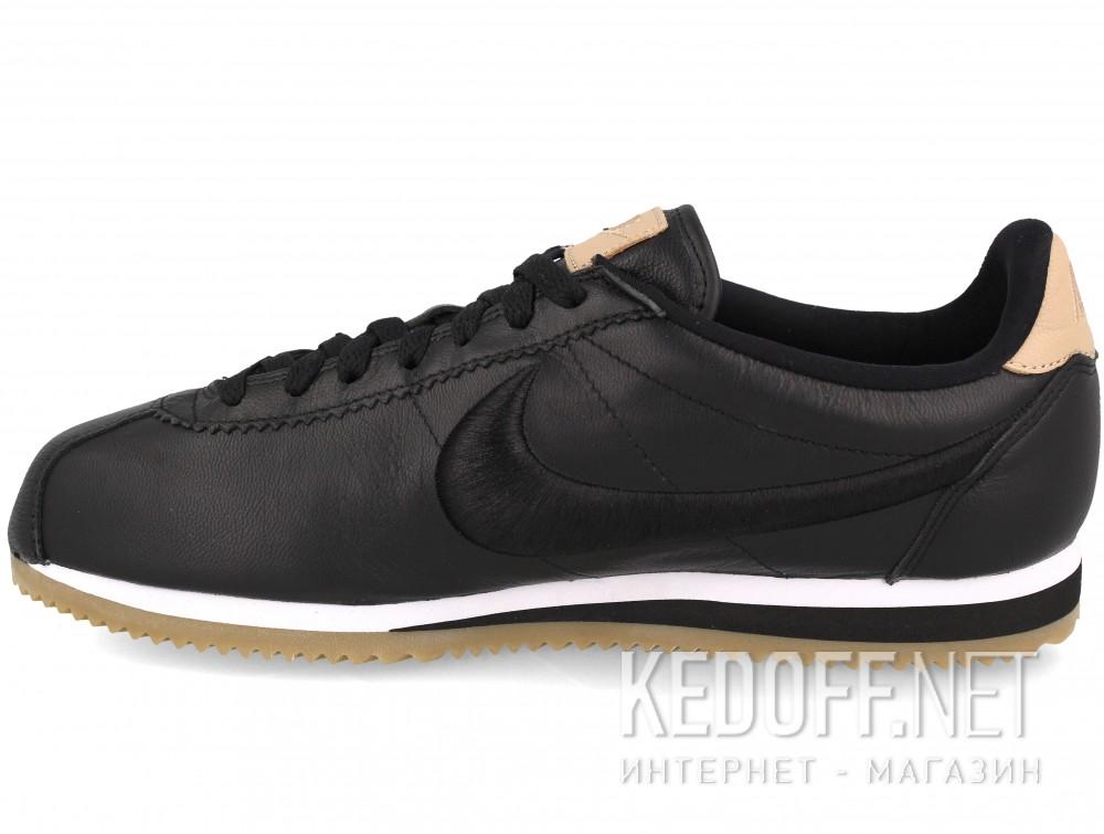 Мужские комфорт Nike Classic Cortez Premium Leather 861677-004   (чёрный) купить Украина