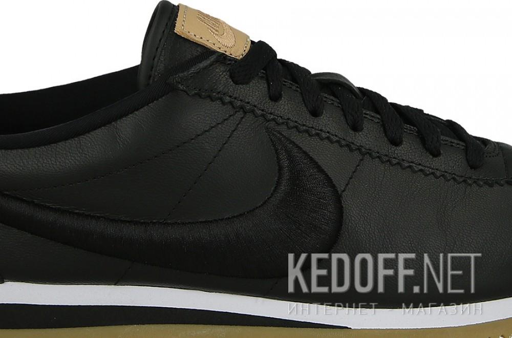 Оригинальные Мужские комфорт Nike Classic Cortez Premium Leather 861677-004   (чёрный)