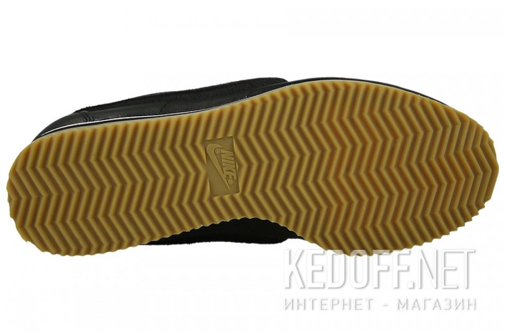 Мужские комфорт Nike Classic Cortez Premium Leather 861677-004   (чёрный) описание
