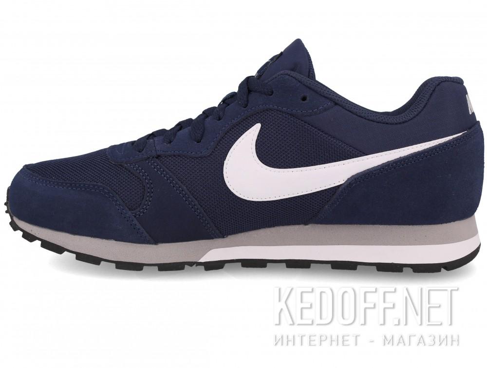 Мужские кроссовки Nike Md Runner Suede 749794-410   (тёмно-синий) купить Киев