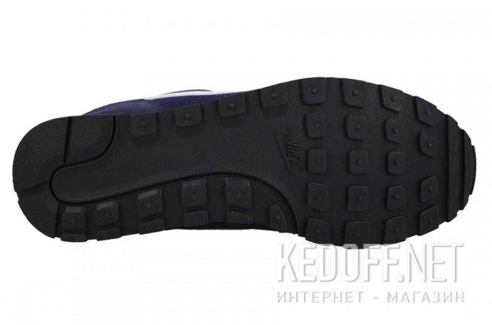 Оригинальные Мужские кроссовки Nike Md Runner Suede 749794-410   (тёмно-синий)