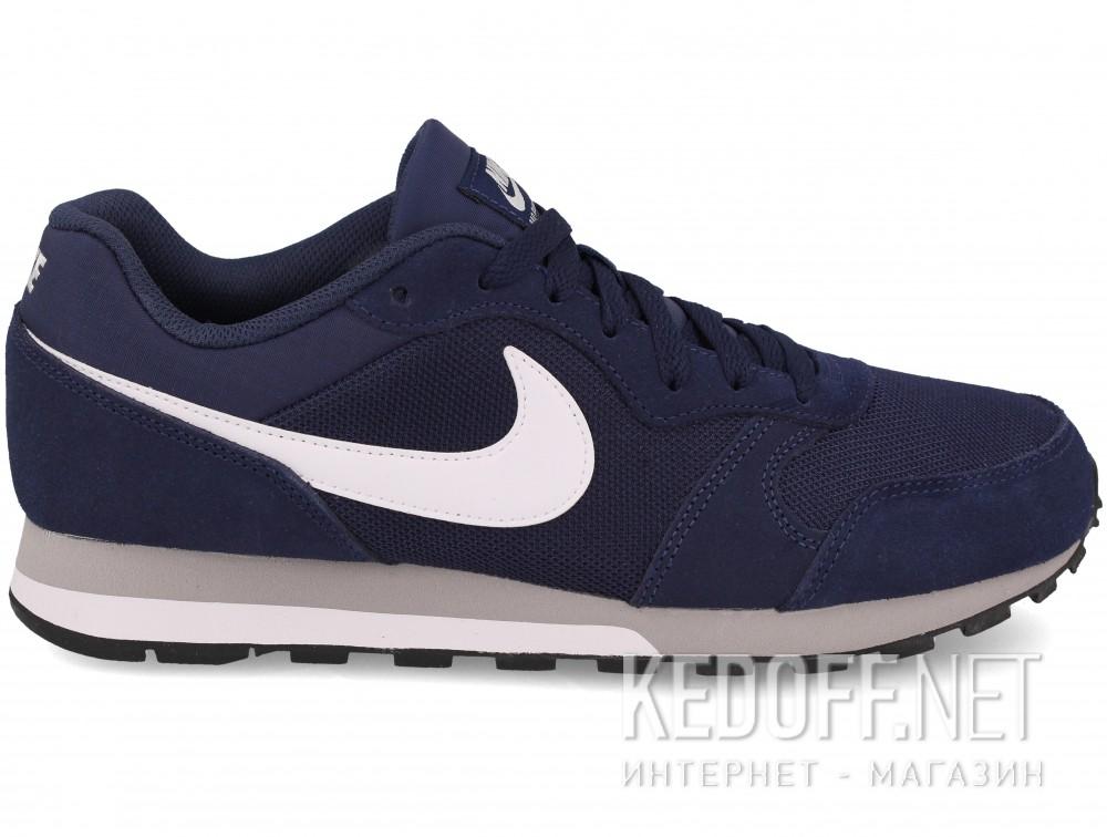 Мужские кроссовки Nike Md Runner Suede 749794-410   (тёмно-синий) купить Украина