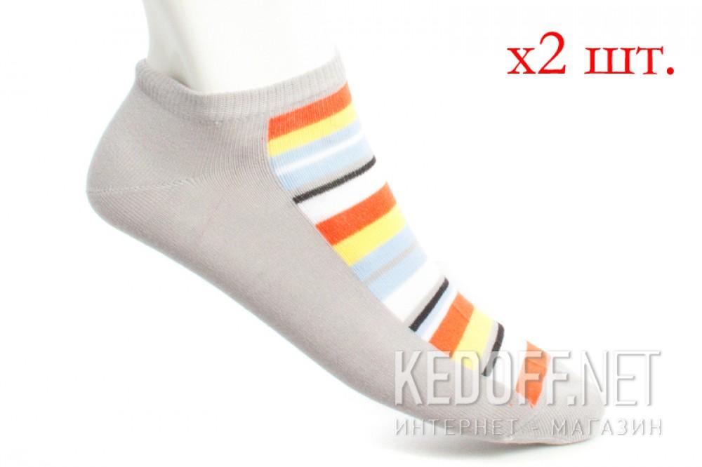 Купить Носки Mexx 006324-0515 унисекс   (голубой/оранжевый/жёлтый/серый)