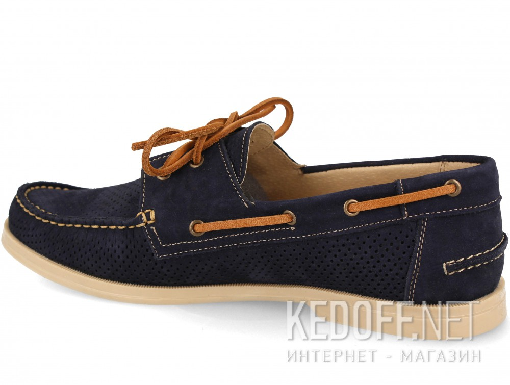 Мужские топсайдеры Forester 4014-89   (тёмно-синий) купить Украина