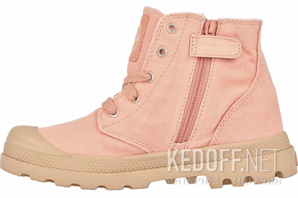 Детские кеды Palladium 53196-670   (розовый) купить Украина