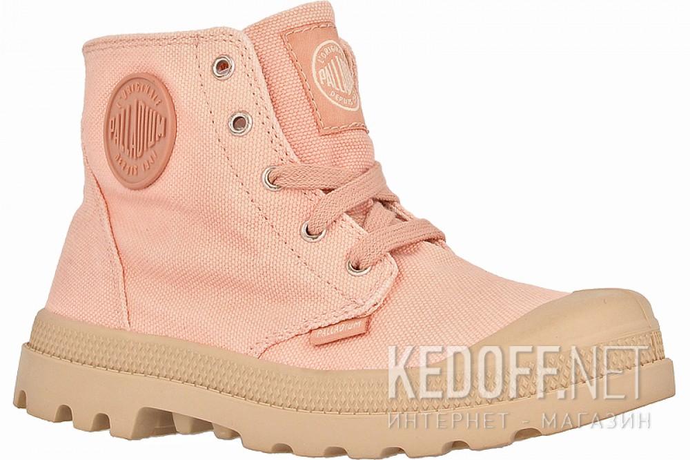 Купить Детские кеды Palladium 53196-670   (розовый)