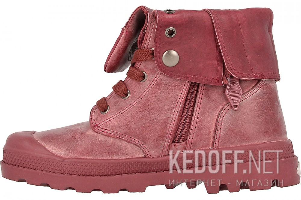 Детские ботинки Palladium 53454-640   (бордовый) купить Украина