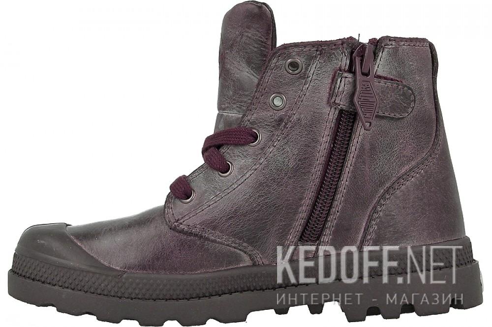 Женские кеды Palladium 53479-235   (тёмно-коричневый) купить Украина