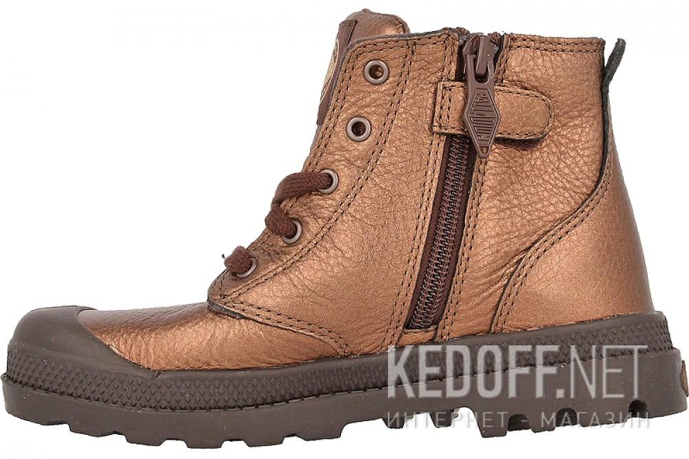 Детские ботинки Palladium 53481-227   (бронзовый) купить Украина