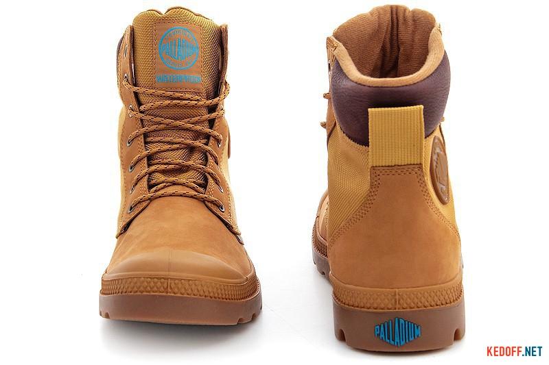 Boots Palladium Pampa Sport Cuff Wpn 73234-228 Yellow nubuck