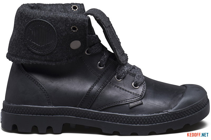 Shoes Palladium Pallabrouse BGY 2 93471-068 Black Leather