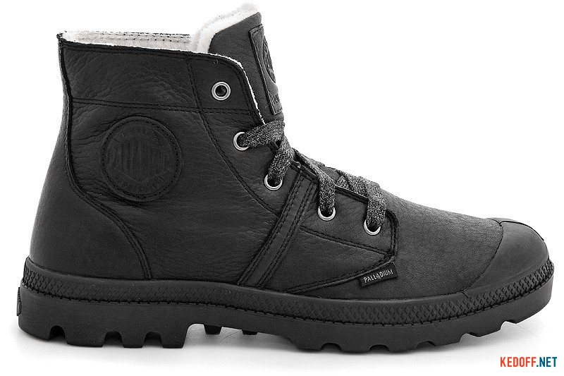 French boots Palladium Pallabrouse Wps 93475-001 Black leather