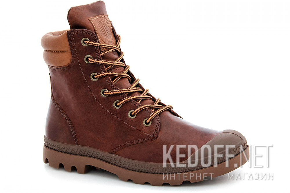 Boots Palladium Wendy Tuga F 93612-200 Brown Leather