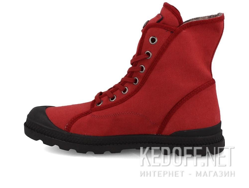 Текстильная обувь Palladium 95347-648 унисекс   (бордовый) купить Украина
