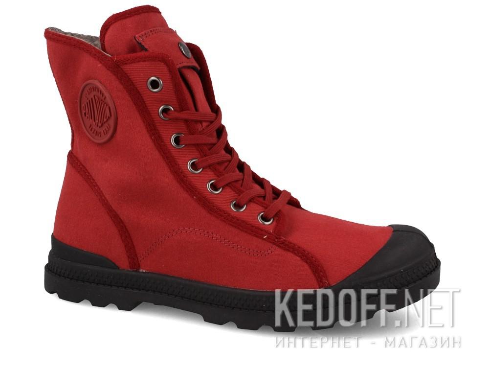 Купить Текстильная обувь Palladium 95347-648 унисекс   (бордовый)