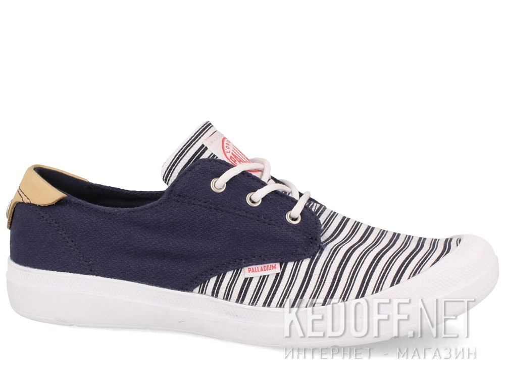 Купить Текстильная обувь Palladium 95352-484 унисекс   (синий/белый)