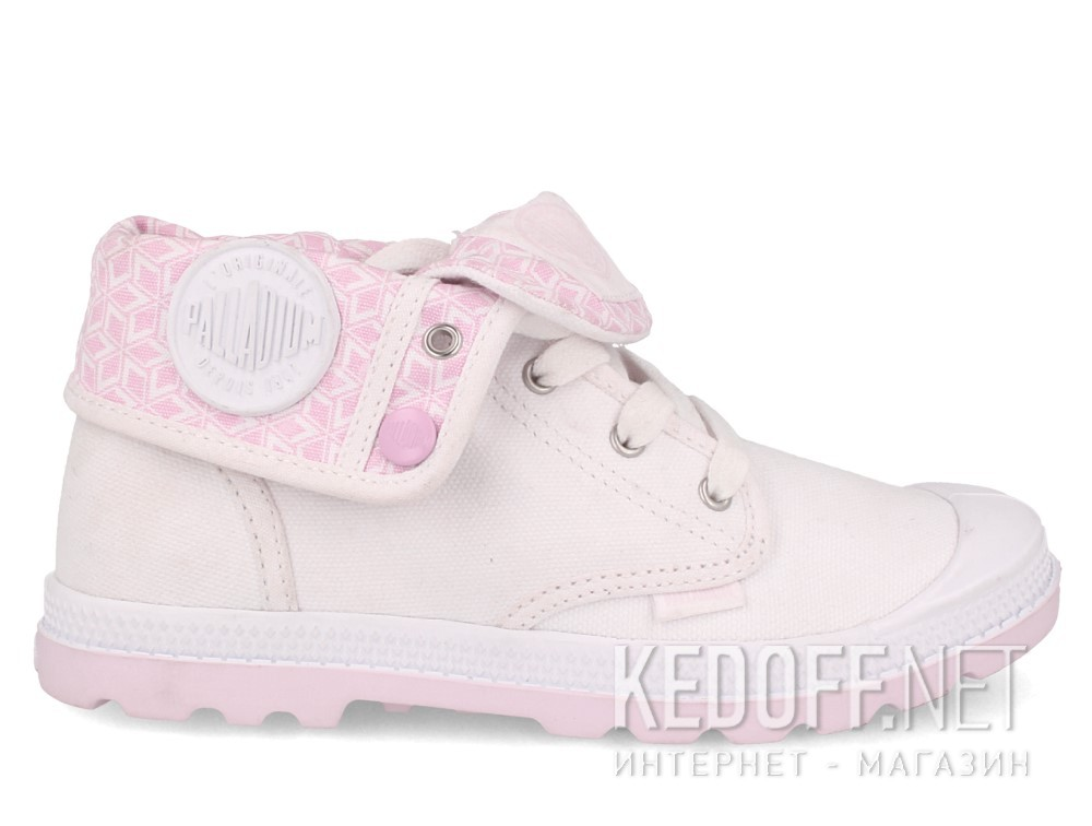 Детские кеды Palladium Baggy Low Zip Lp 55355-130   (белый) купить Украина