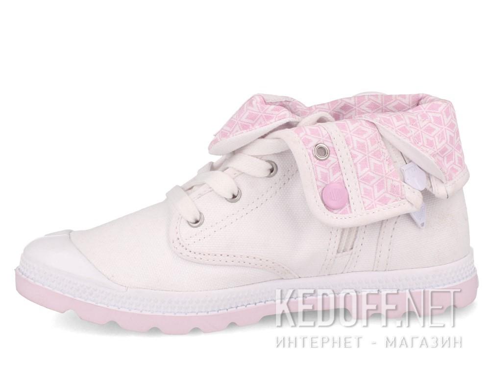 Детские кеды Palladium Baggy Low Zip Lp 55355-130   (белый) купить Киев