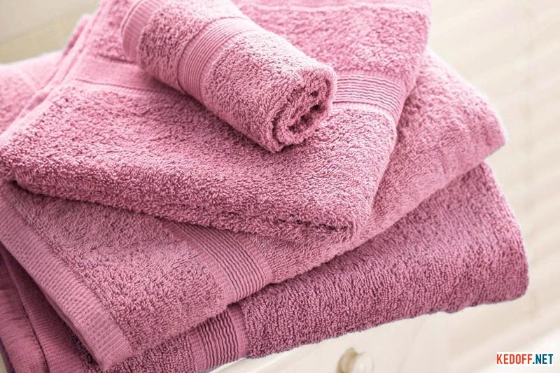 Полотенца Las Espadrillas 171082   (розовый) купить Киев