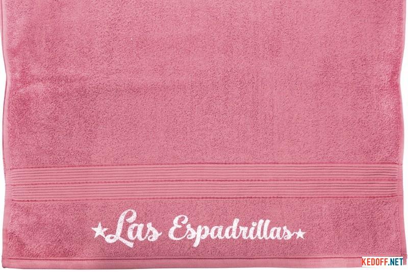 Оригинальные Полотенца Las Espadrillas 171082   (розовый)