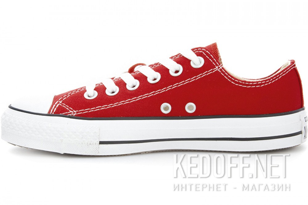 Цены на Кеды Converse Chuck Taylor All Star Ox M9696C унисекс   (красный)