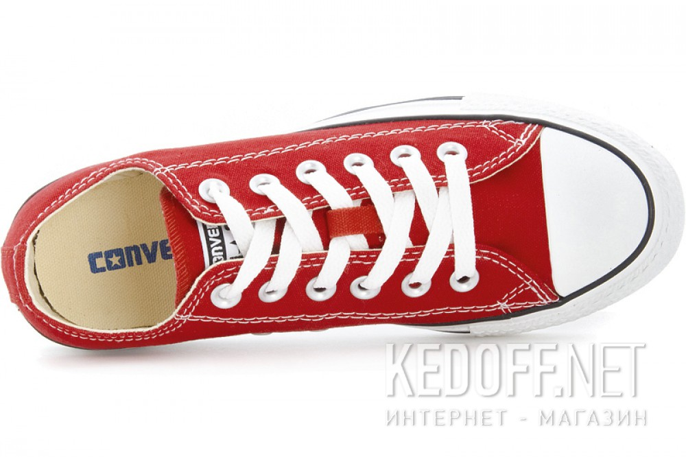 Доставка Кеды Converse Chuck Taylor All Star Ox M9696C унисекс   (красный)