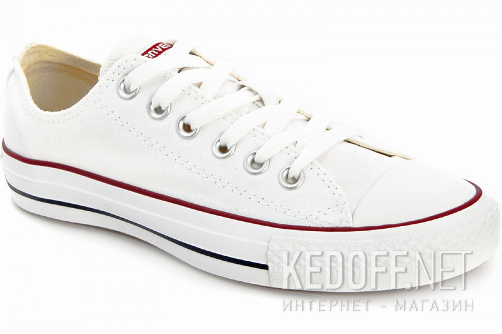 Кеды Converse Chuck Taylor All Star Classic Low Optical White M7652C унисекс   (белый) купить Киев