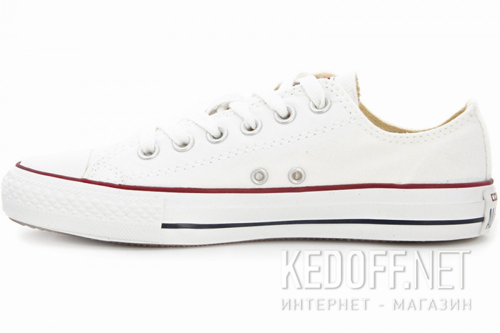 908873f4a5c7 Цены на Кеды Converse Chuck Taylor All Star Classic Low Optical White  M7652C унисекс (белый
