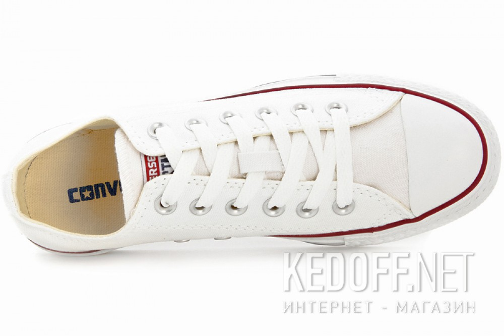 Цены на Кеды Converse Chuck Taylor All Star Classic Low Optical White M7652C унисекс   (белый)
