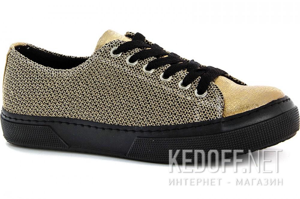 Golden sneakers Las Espadrillas 1518-79SH