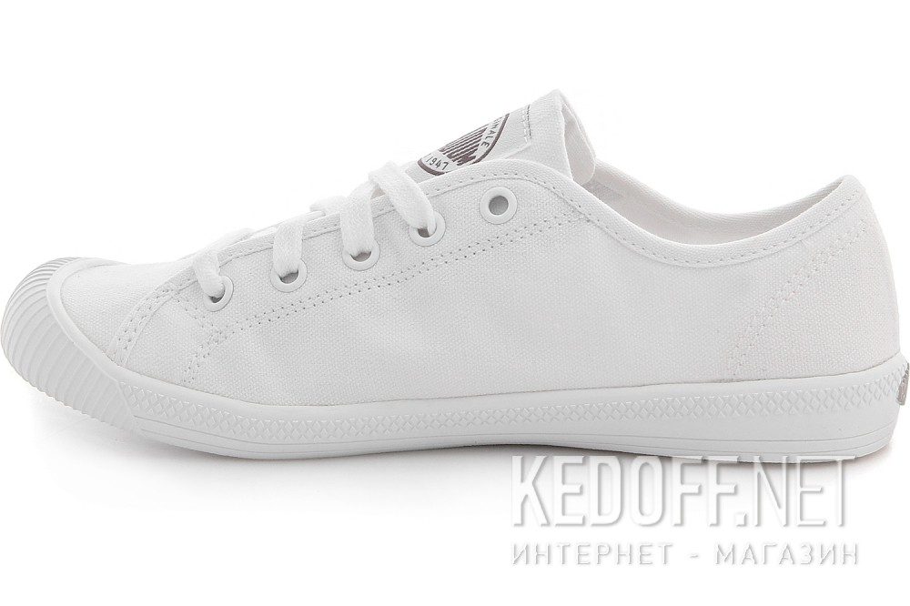 Полукеды Palladium Flex Lace 93155-170 White Monochrome