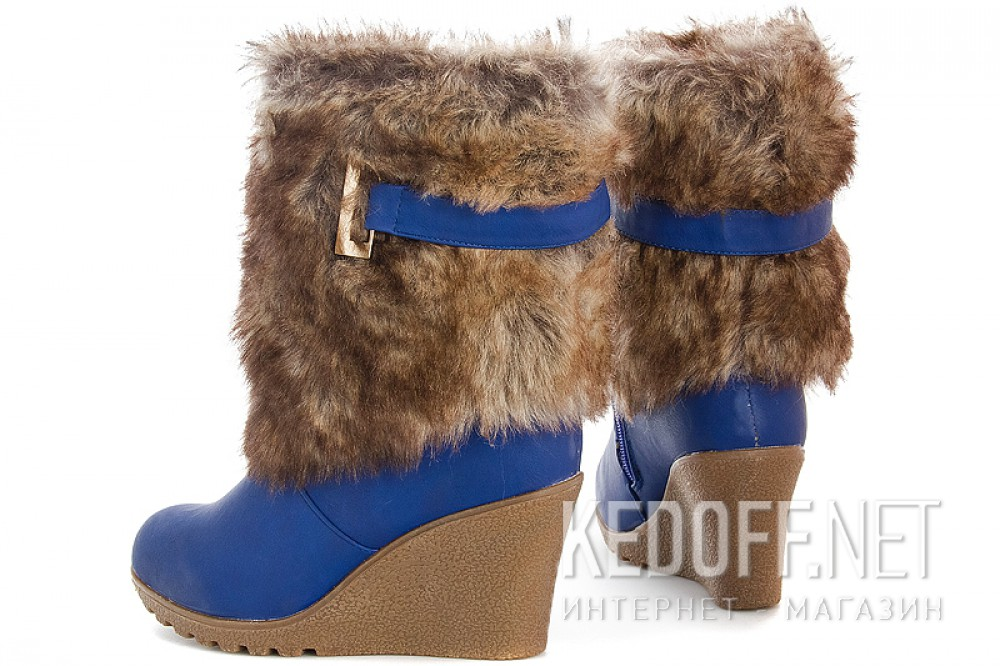 Women's boots Forester A3006A-6 Blue