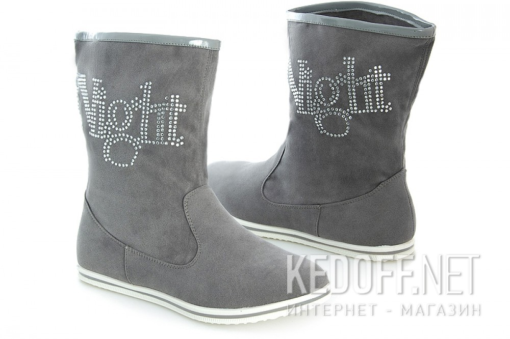 Boots Forester 1322 Grey suede