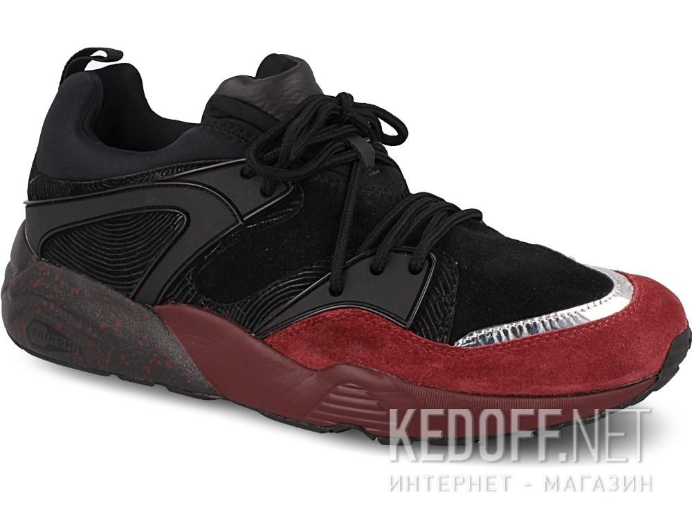 Купить Спортивная обувь Puma Blaze Of Glory Halloween 363548-01 унисекс   (бордовый/чёрный)