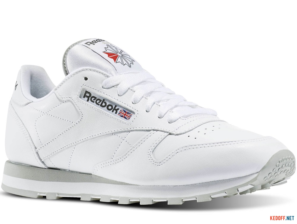 Купить Кроссовки Reebok Classic Leather 2214 White/Grey
